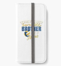 Funny Volleyball Brother & Sister Gift iPhone Wallet/Case/Skin
