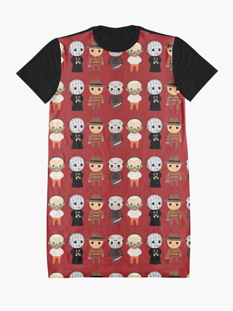 Alternative Ansicht von Der Horror-Club T-Shirt Kleid