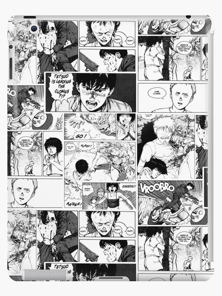 Akira Manga Print Ipad Case Skin By Koalamekrazy Redbubble