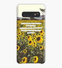 Jeremiah Sunflowers Case/Skin for Samsung Galaxy