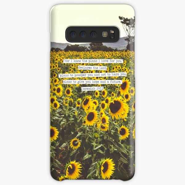 Jeremiah Sunflowers Samsung Galaxy Snap Case