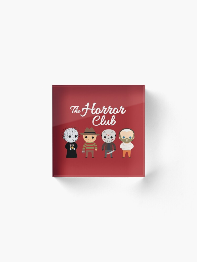 Alternative Ansicht von Der Horror-Club Acrylblock