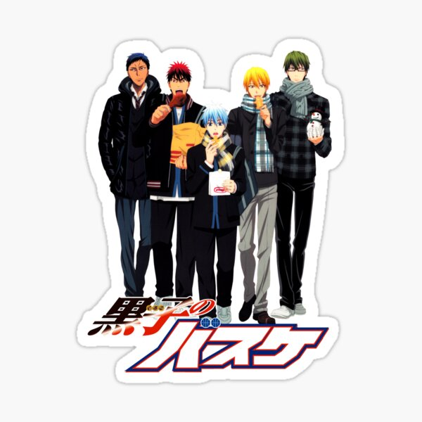 Kuroko pas de panier Sticker