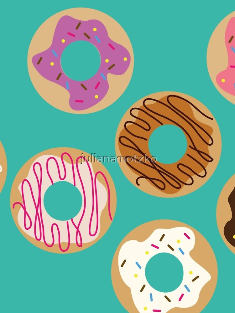 Delicious donuts by julianamotzko