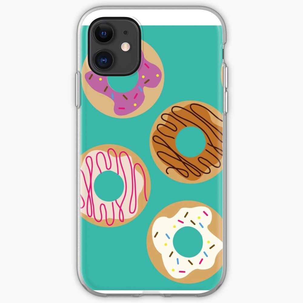 Delicious donuts iPhone Case & Cover
