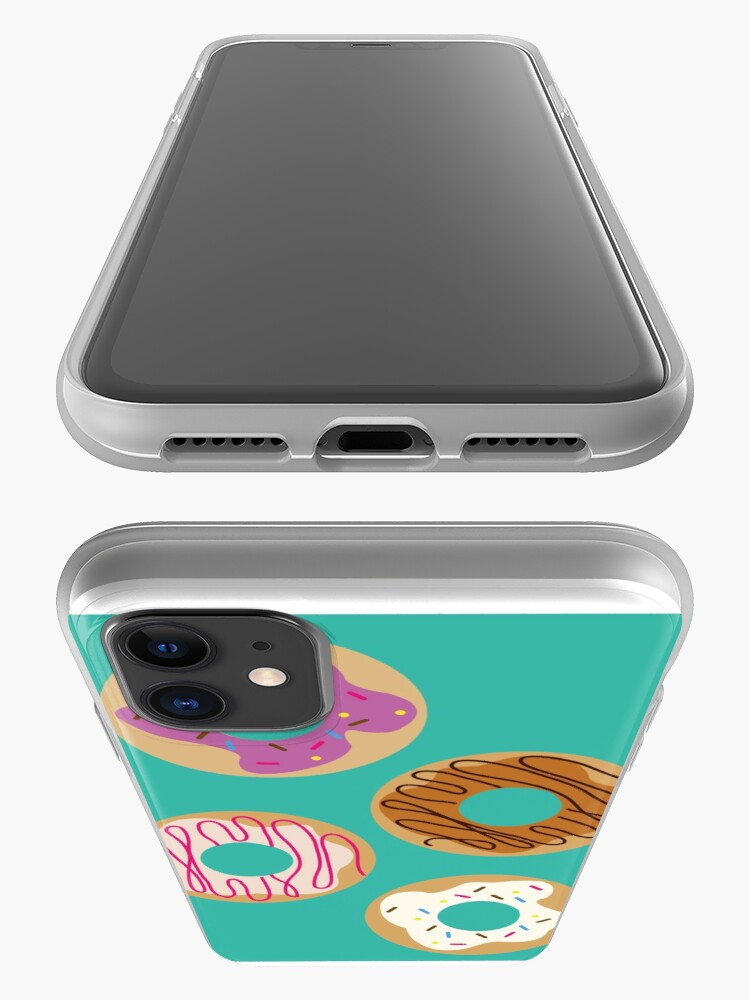 Alternate view of Delicious donuts iPhone Case & Cover