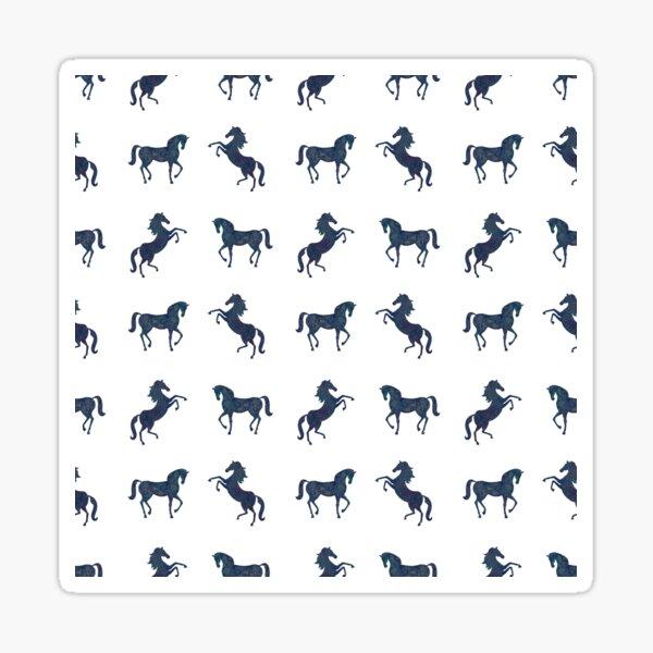 Where the blue horses run Sticker