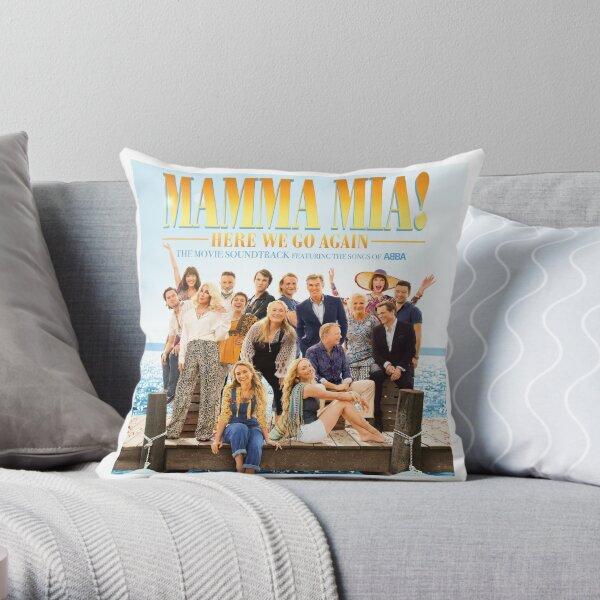 Mamma mia Throw Pillow