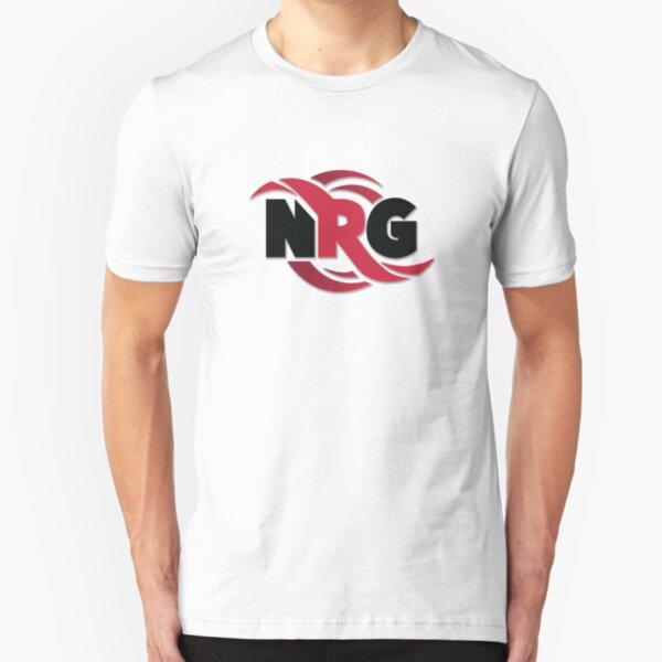 NRG Logo Slim Fit T-Shirt