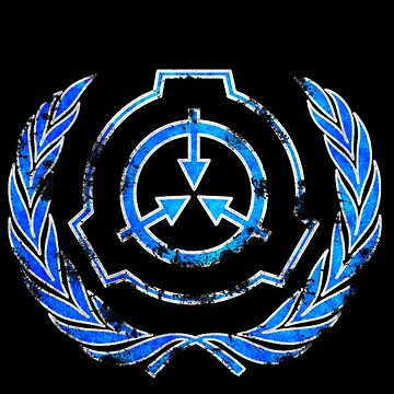 SCP foundation blue crest symbol by Rebellion-10