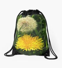 Taraxacum Officinale Drawstring Bag