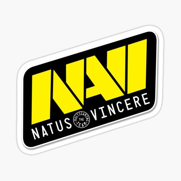 Logotipo de Navi Pegatina