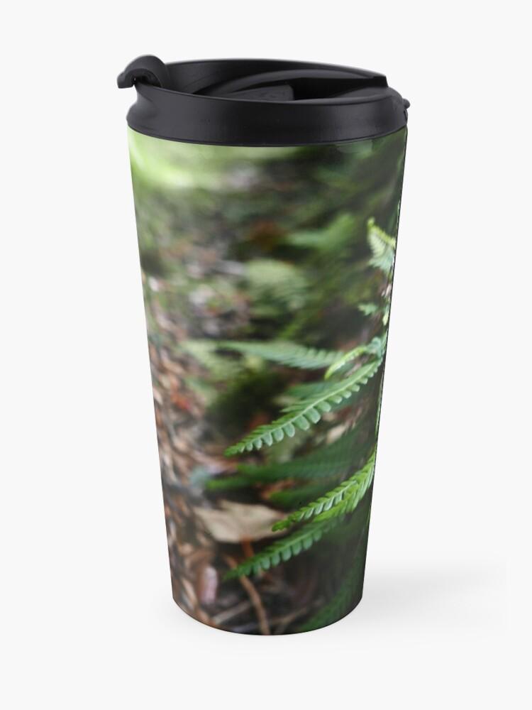 Alternate view of Hard Fern (Blechnum spicant) Travel Mug