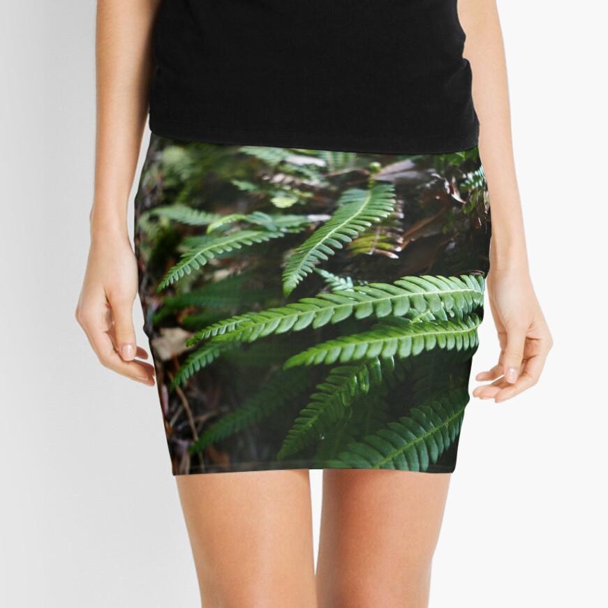 Hard Fern (Blechnum spicant) Mini Skirt
