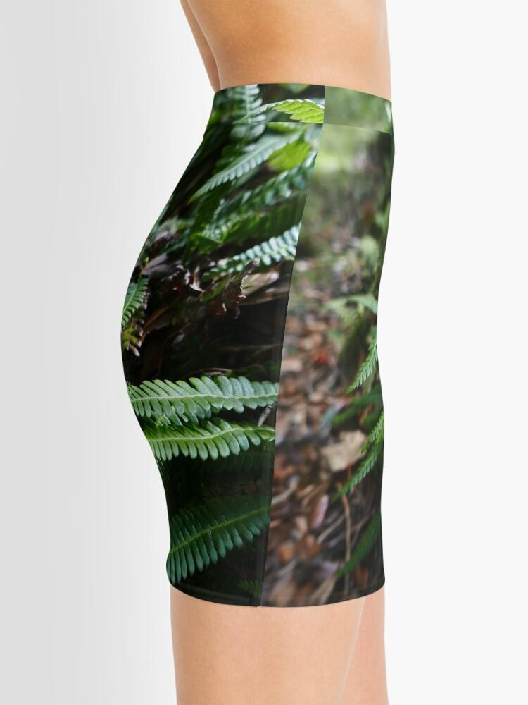 Alternate view of Hard Fern (Blechnum spicant) Mini Skirt