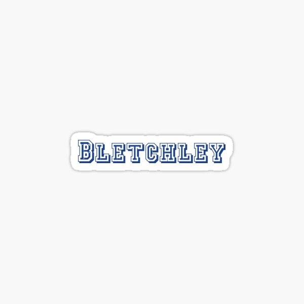 Bletchley Sticker