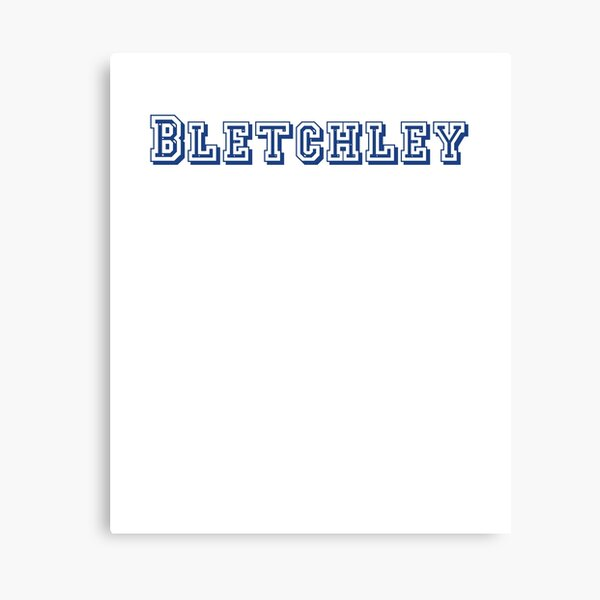 Bletchley Canvas Print