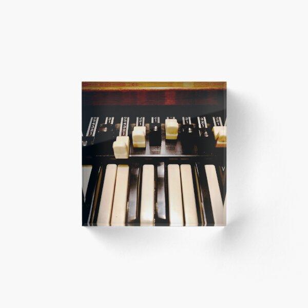Hammond B3 Organ Acrylic Block