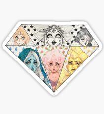 Diamond Authority Sticker