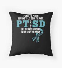 PTSD awareness Shirt - support veteran military Throw Pillow