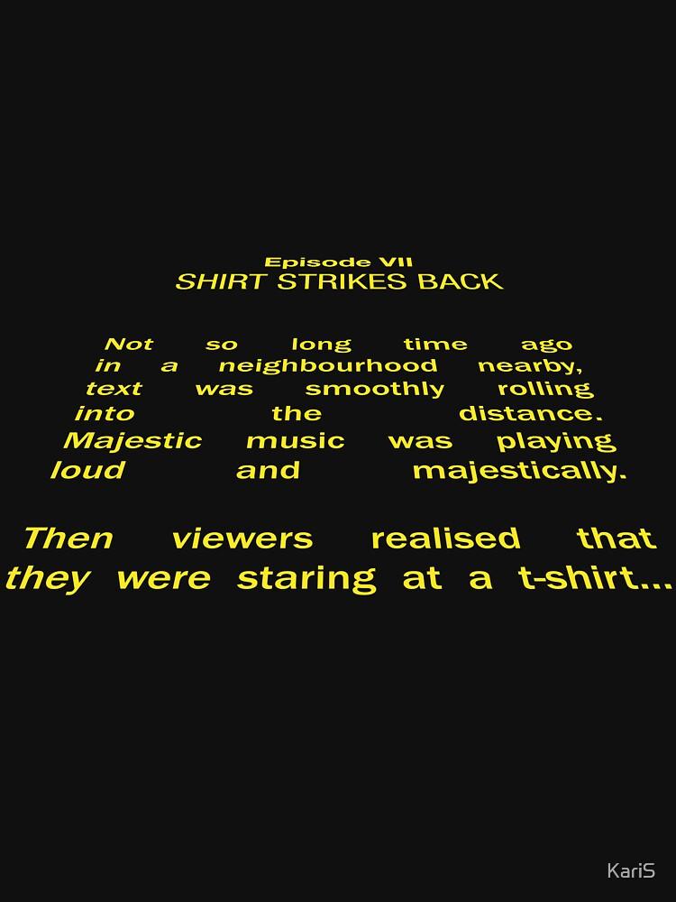 Shirt Strikes Back by KariS