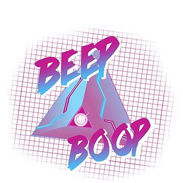 beep boop - retro rover by frickin-rad
