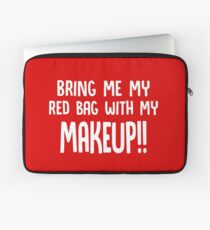 Bring Me My Red Bag with My Makeup // Funny 90 Day Fiance Anfisa Quotes  Laptop Sleeve