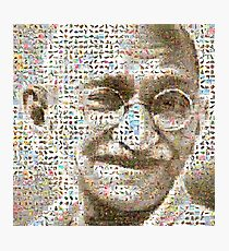 Gandhi Photographic Print