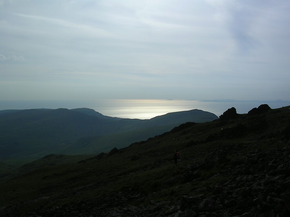 Barmouth, from Cadair Idris by 'ö-Dzin Tridral
