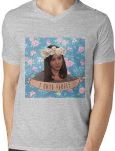 I Hate People - April Ludgate Mens V-Neck T-Shirt