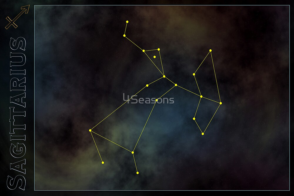 Sagittarius zodiac by 4Seasons