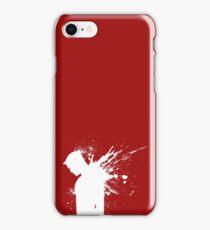 Devil in a Snowstorm iPhone Case/Skin