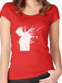 Devil in a Snowstorm Women's Fitted Scoop T-Shirt