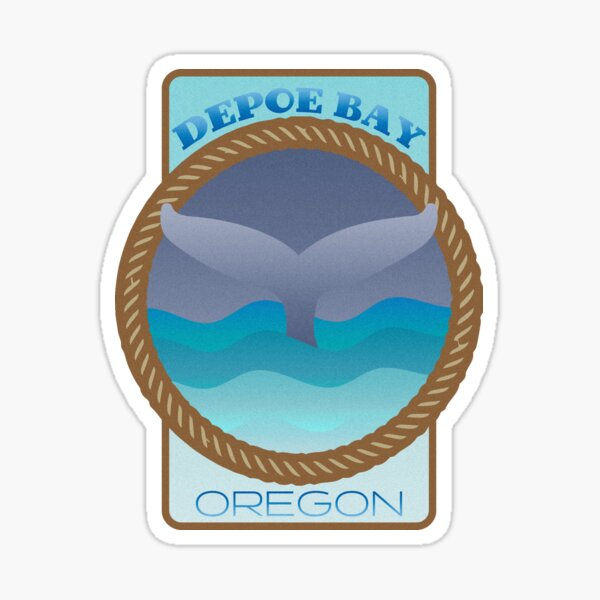 Depoe Bay, Oregon - Project 101 Sticker