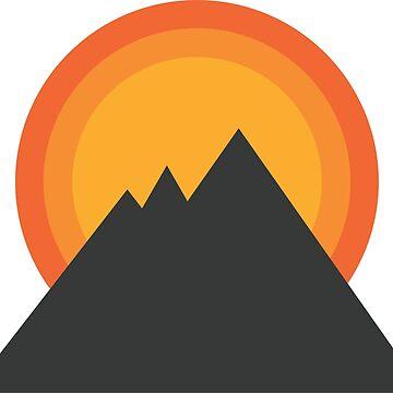 Mountain Sunrise by MeInTheMirror