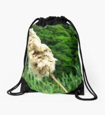 Cattail Drawstring Bag