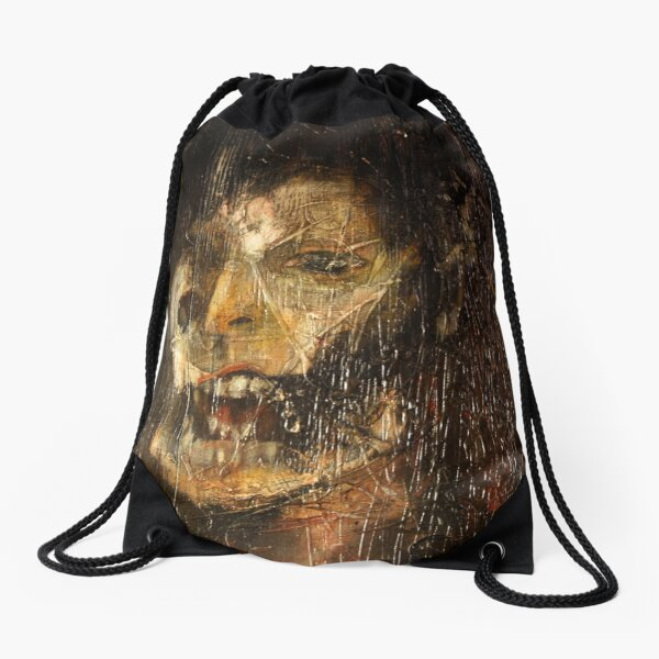 portrait of the king Drawstring Bag