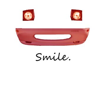 mazda mx5 mk1 miata smile sticker jdm by kyrannnn