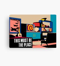 Talking Heads - This Must Be The Place (Naive Melody) Canvas Print