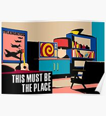 Talking Heads - This Must Be The Place (Naive Melody) Poster