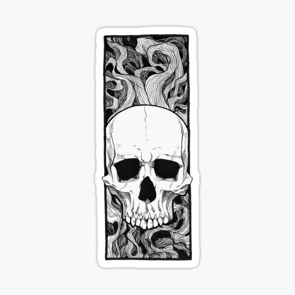 Smoke and Bones Sticker