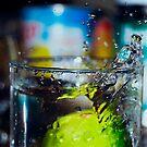 Lime Splassh iv by ghastly