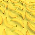 Perfect Floating Bananas by Vin  Zzep