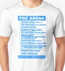 Arena Middlesbrough Retro Flyer Unisex T-Shirt