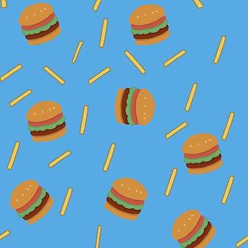 Burger 'n' Fries by HungryRam45