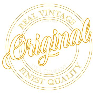 Original Real Vintage by RoyalT-shirts