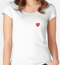 COMME DES GARCONS - PLAY Women's Fitted Scoop T-Shirt