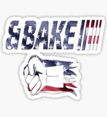 Shake and Bake Couples shirt, Bake Sticker