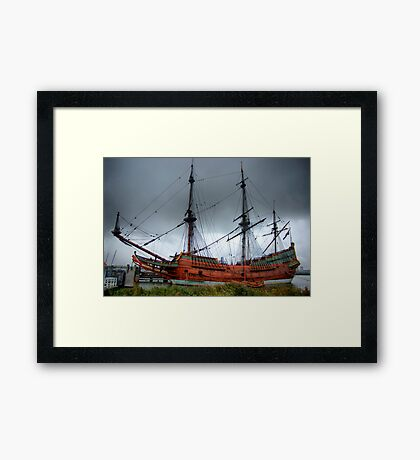 The Batavia - HDR Framed Print