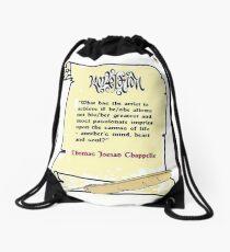 Artistique Revelation Enlarged Drawstring Bag